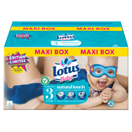 COUCHES LOTUS BABY TAILLE 3 MAXI BOX X88