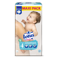 COUCHES LOTUS BABY TAILLE 4 MAXI PACK X62