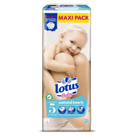 COUCHES LOTUS BABY TAILLE 5 MAXI PACK X56