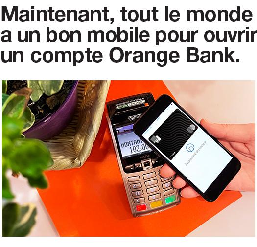 ORANGE BANK MOBILE MULTICONSTRUCTEURS